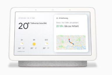 Kommt nach Deutschland: der kleine Google Nest Hub
