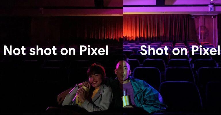 Mit Nachtsicht: Das Pixel 3a kann im Dunkeln sehen.