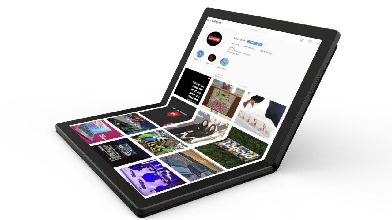 Lenovo X1 Foldable: Der erste faltbare PC dürfte gerne noch größer sein