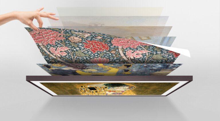 Der Art Store ist eine weitere Besonderheit von The Frame. (Foto: Samsung)