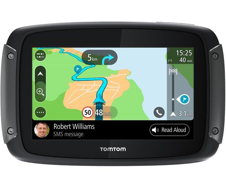 Motorrad-Navigation mit dem TomTom Rider 500 EU Mobiles Motorrad-Navigationsgerät