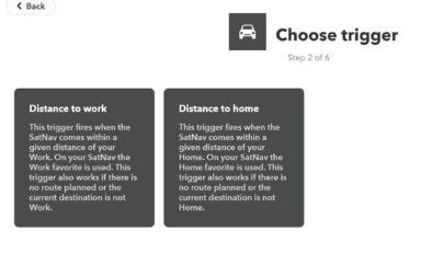 IFTTT-App. (Foto: Screenshot)
