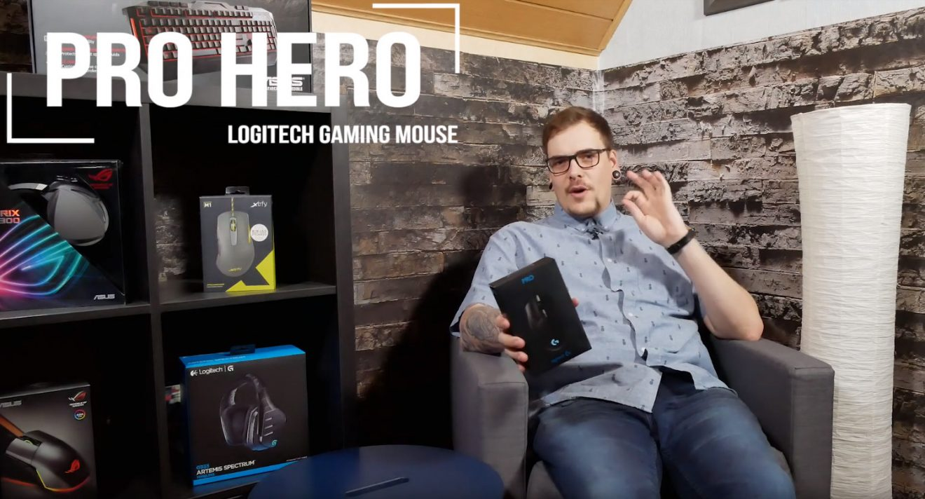 Logitech Pro Hero Gaming Maus: Der Wolf im Schafspelz