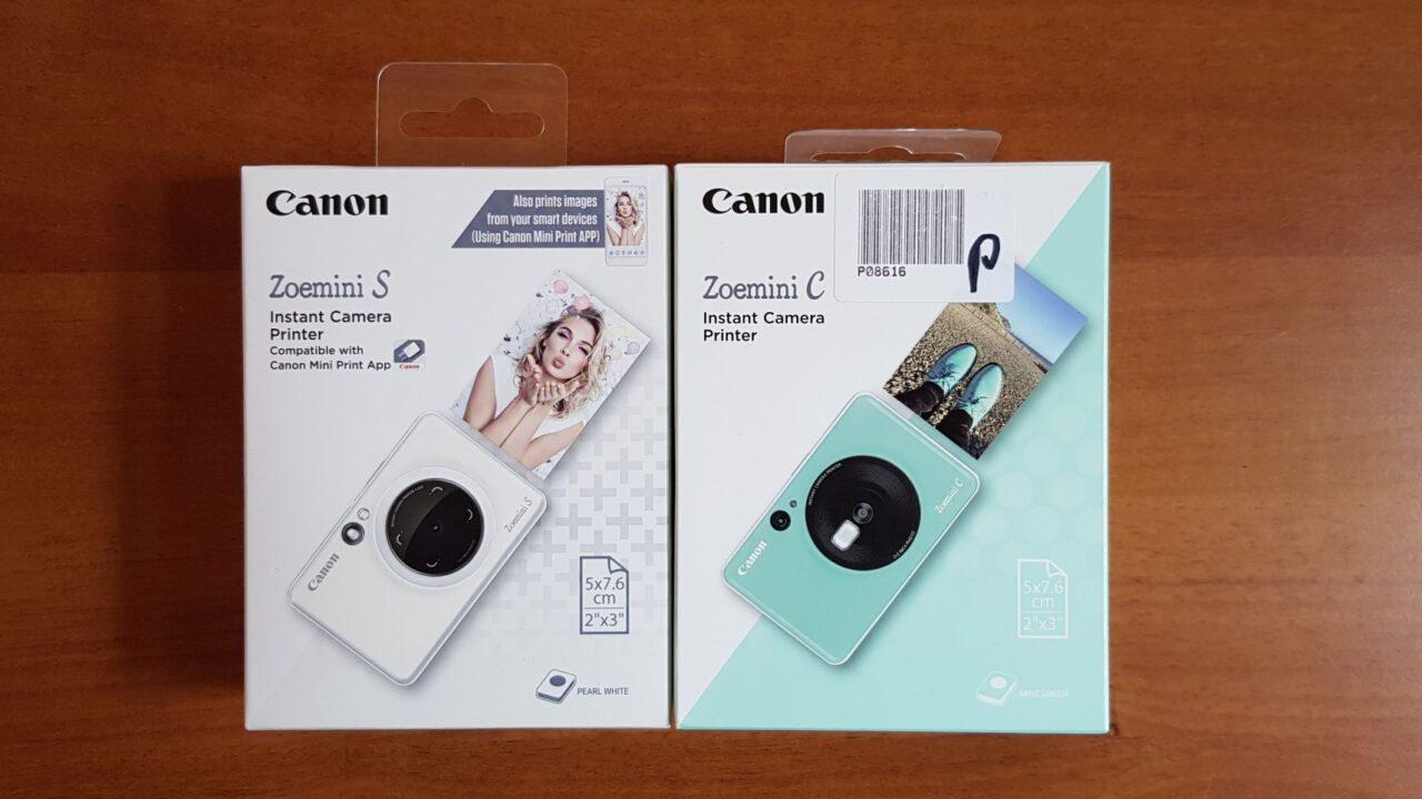 Canon Zoemini C & S im Test: Taschendrucker trifft auf Sofortbildkamera