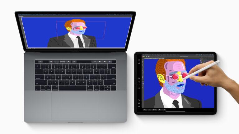 macOS 10.15 Catalina erlaubt es euch, euer iPad als Zweitbildschirm zu nutzen.