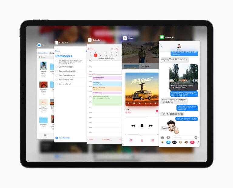 Slide Over mit dem neuen iPadOS