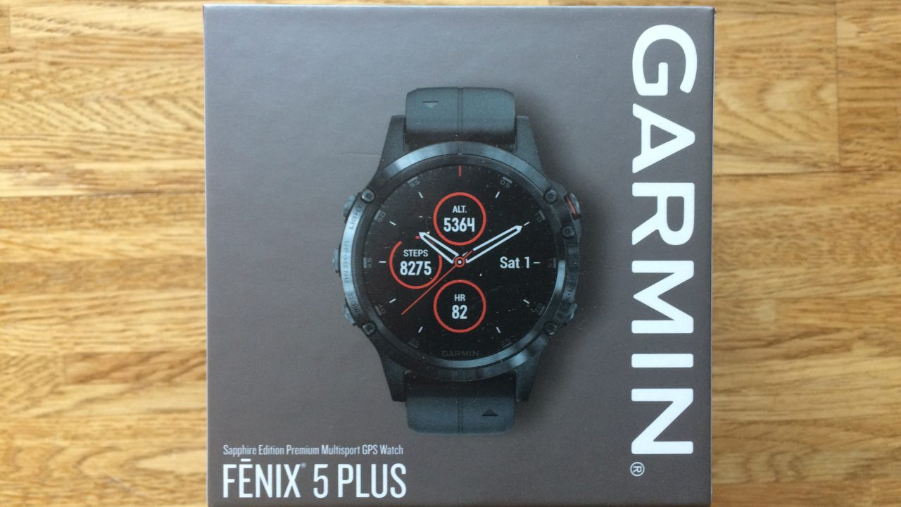 Garmin Fenix 5 Plus: GPS-Multisport-Smartwatch als Wander-Navi