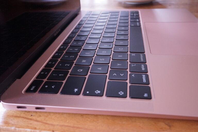 Tastatur am MacBook Air 2018
