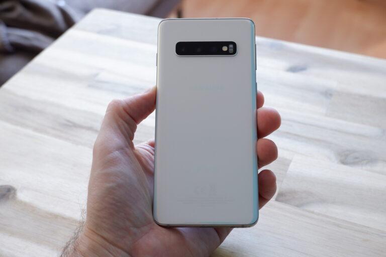 Einfach schön: Das Samsung Galaxy S10