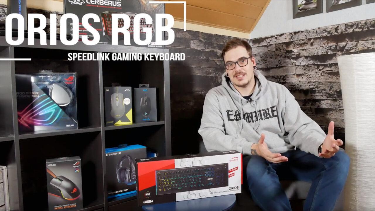Speedlink Orios optomechanische Tastatur: Mehr Gaming geht nicht