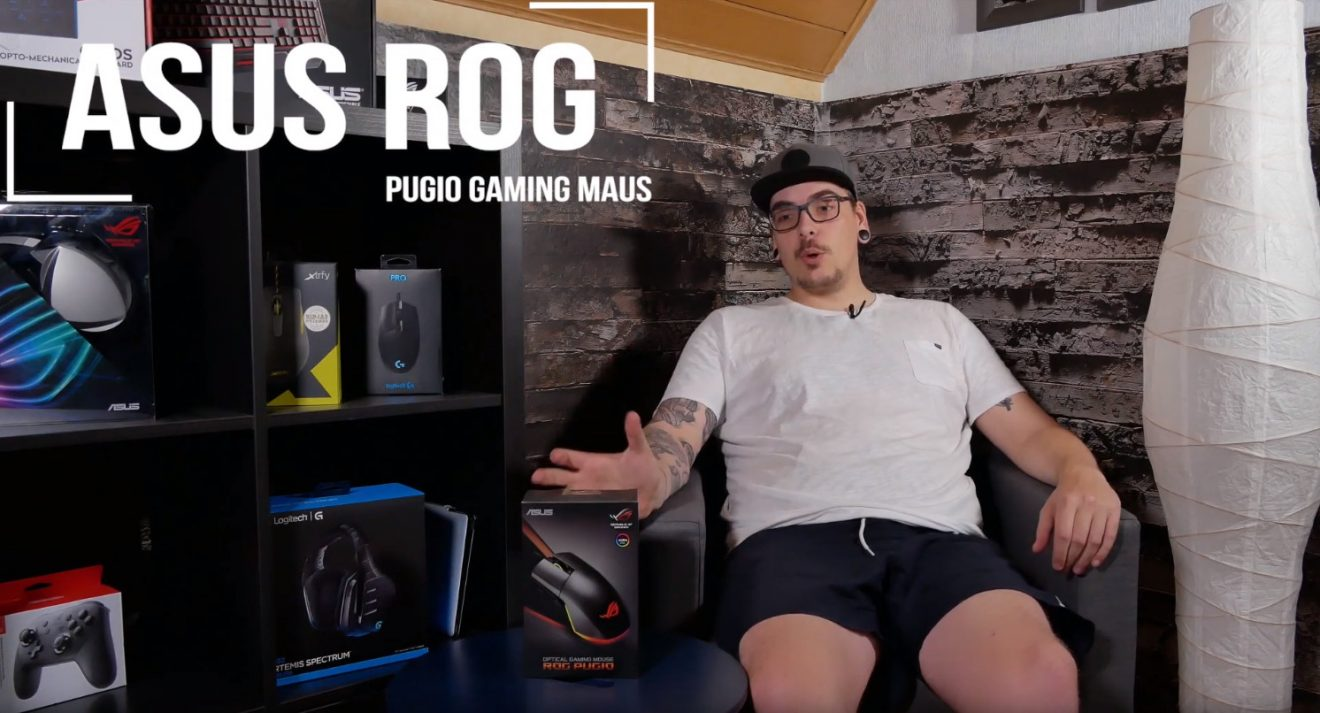 Asus ROG Pugio: Individualisierbar wie keine andere Gaming-Maus