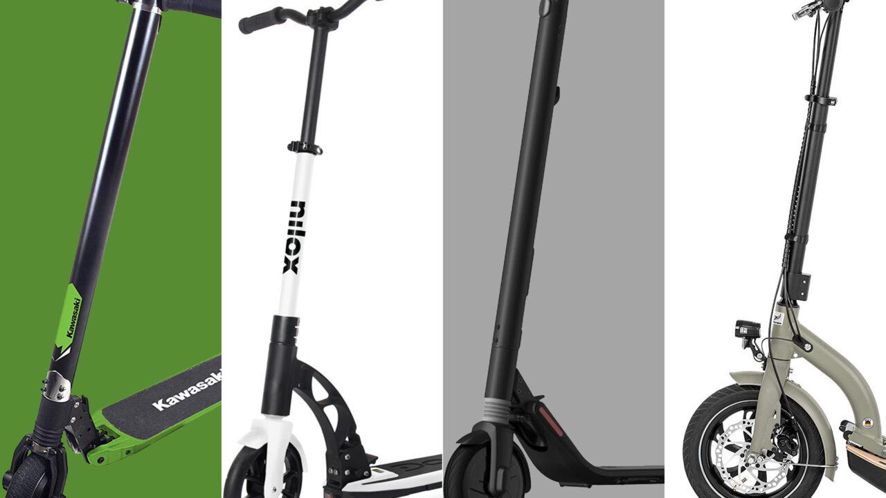 E-Scooter im Straßenverkehr: Diese Modelle sind zugelassen