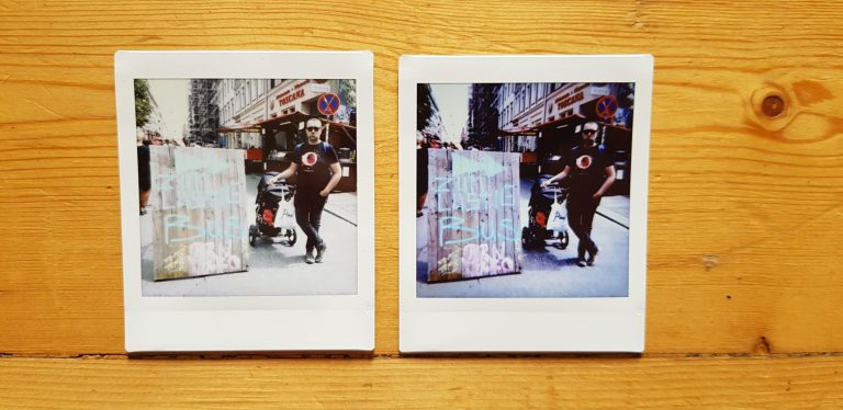 Links das unbearbeitete Bild, rechts nach etwas Korrektur und Filter. (Foto: Sven Wernicke)