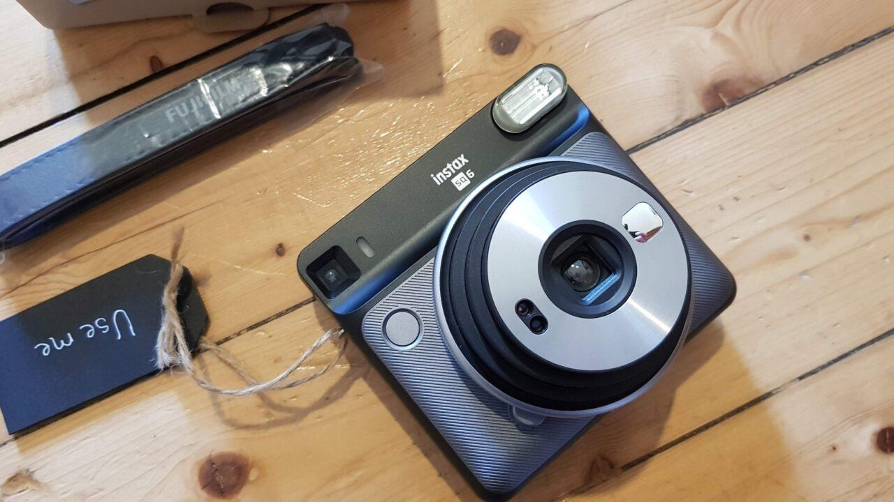 Fujifilm Instax Square SQ6 im Test: Harte Konkurrenz für Polaroid