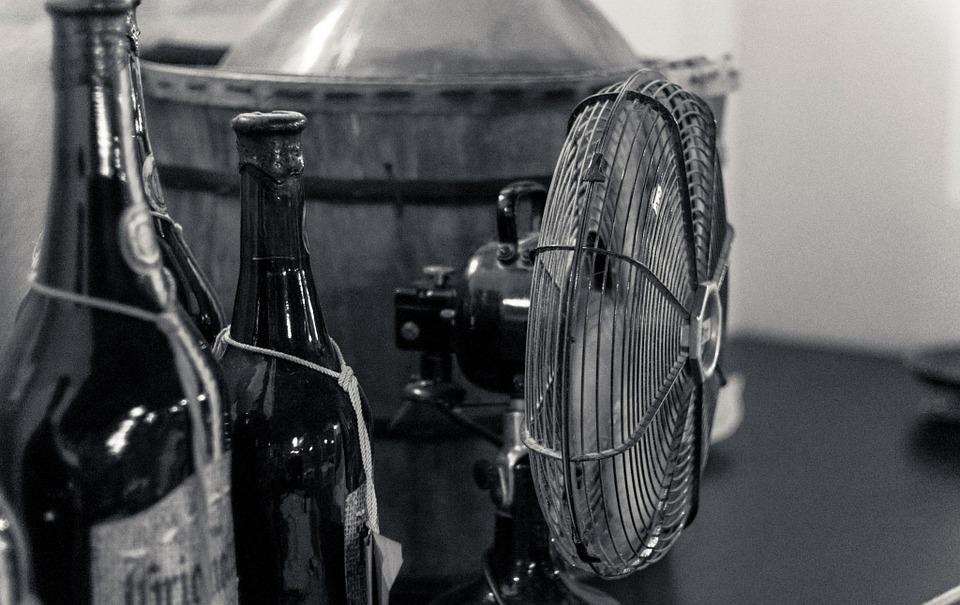 Bier Ventilator kühlen