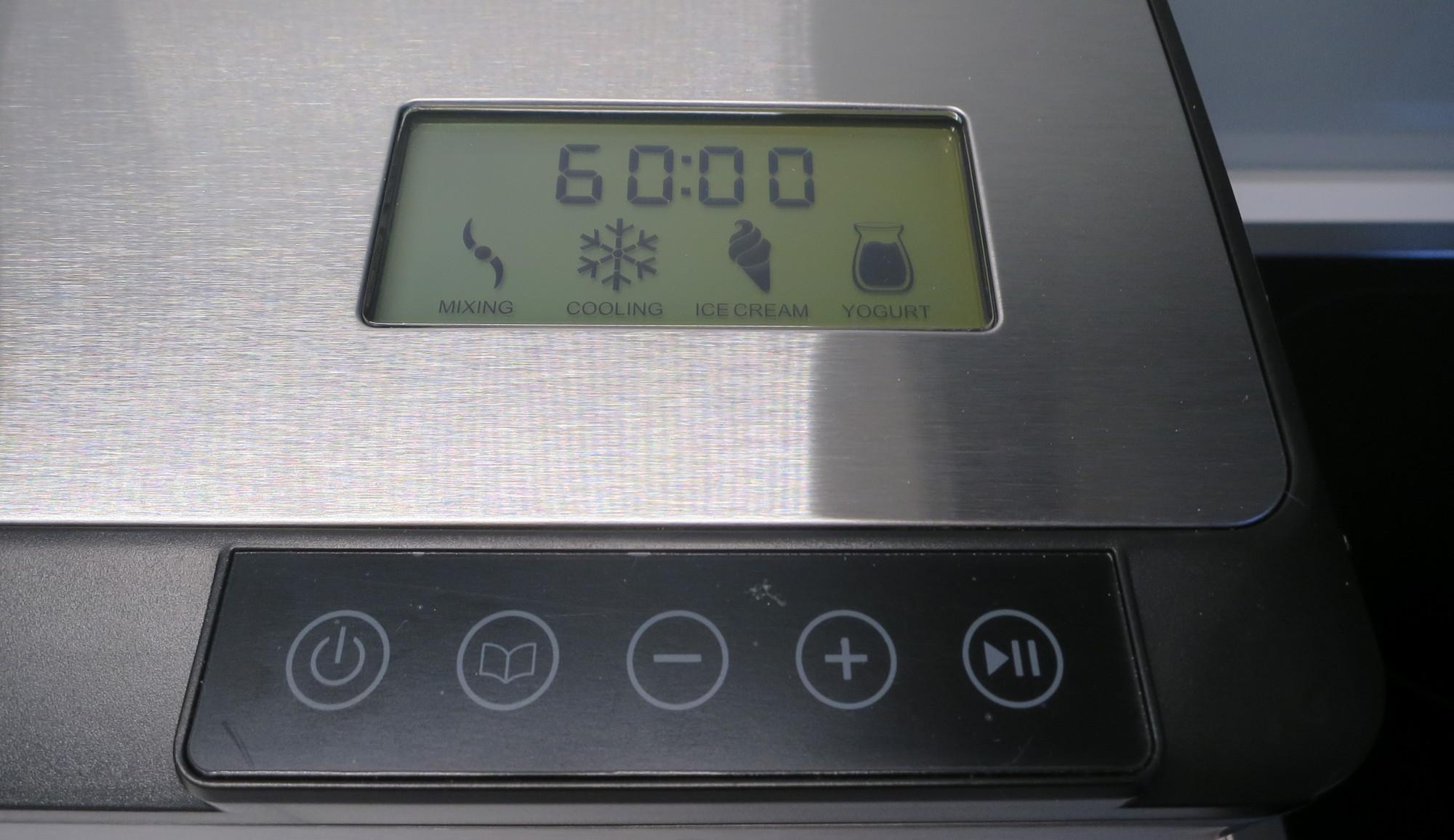 Bedienung der Eismaschine Steba IC 180