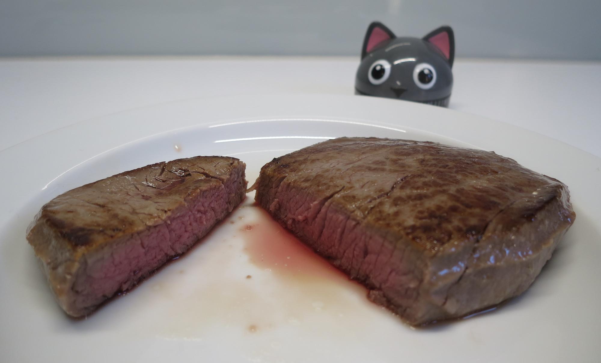 Fleisch aus dem Sous-vide-Garer