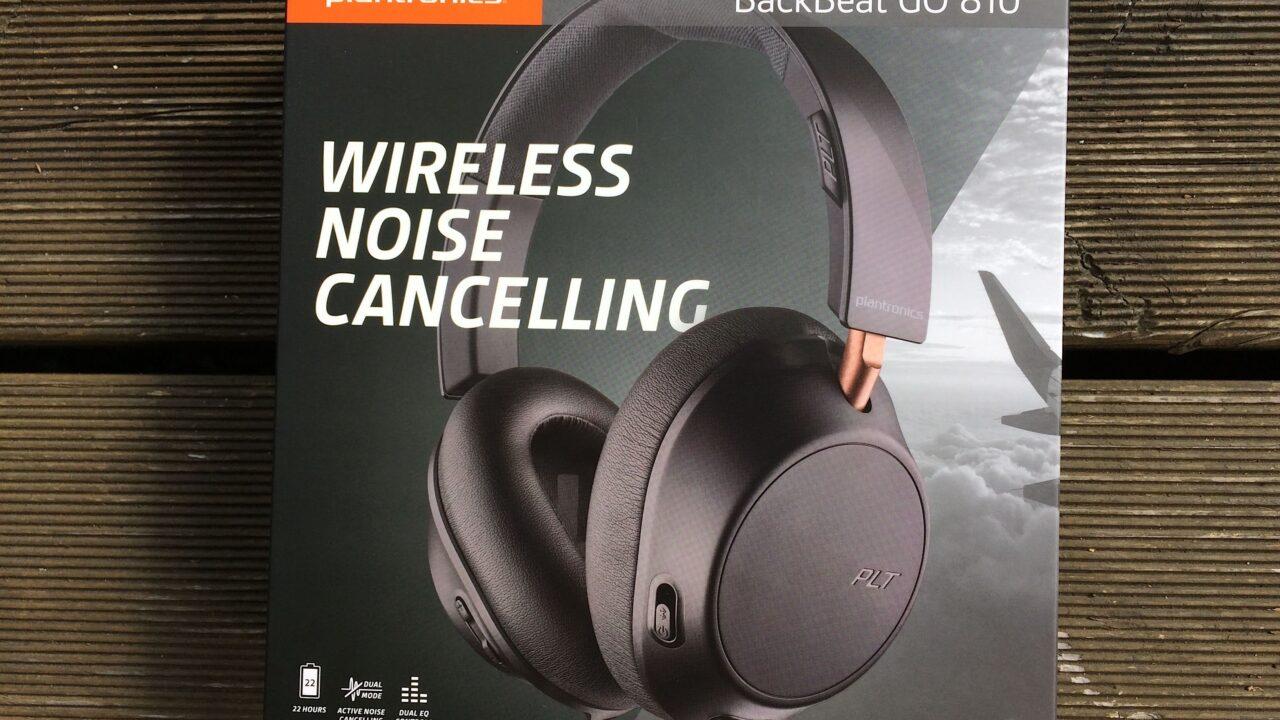 Noise-Cancelling-Kopfhörer zum guten Preis: Plantronics Backbeat Go 810
