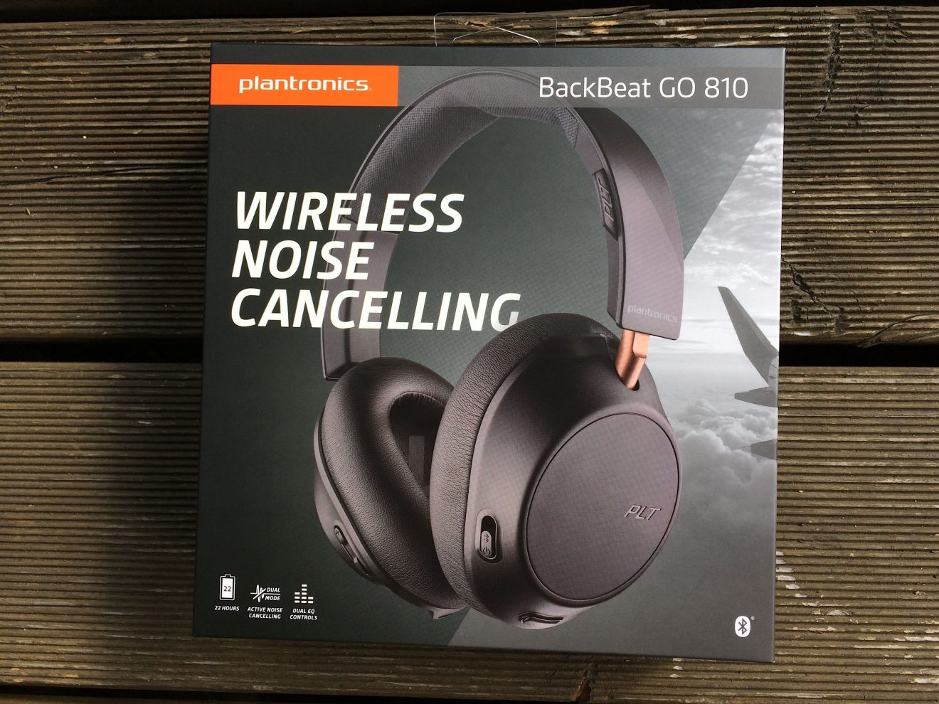 Noise-Cancelling-Kopfhörer Plantronics Backbeat Go 810