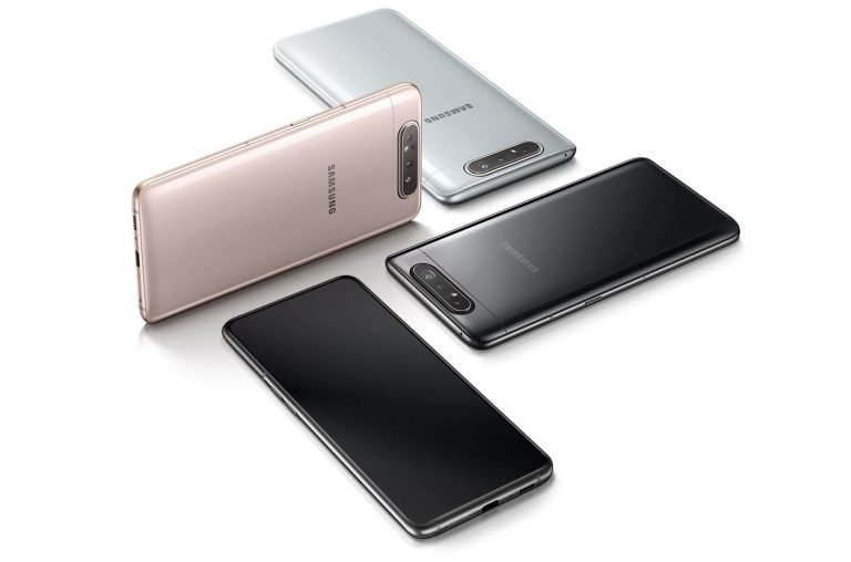 Galaxy A80 in drei Farben