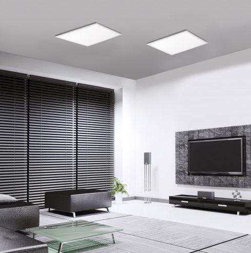 Beispiel für die flexiblen Lampen von Paul Neuhaus: Die LED-Panels lassen sich dank ZigBee ansteuern. (Foto: Paul Neuhaus)