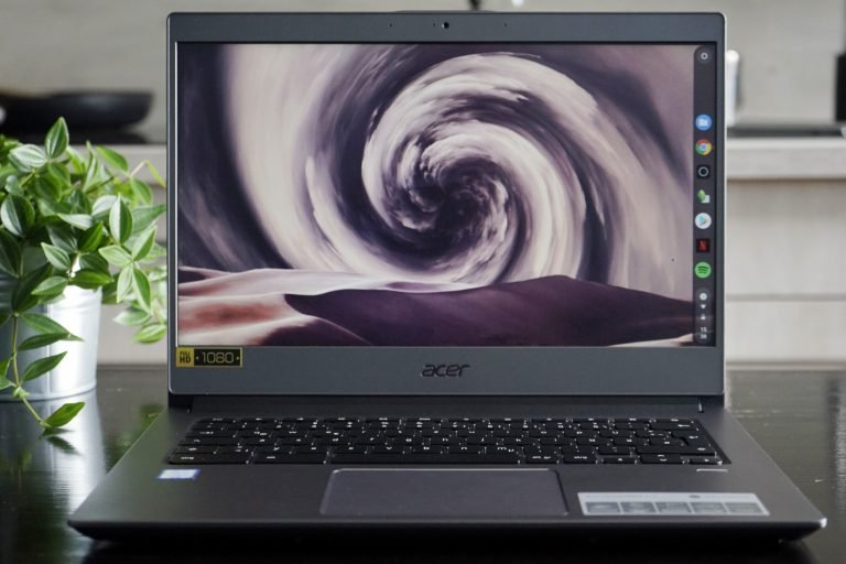 Acer Chromebook 714 Test