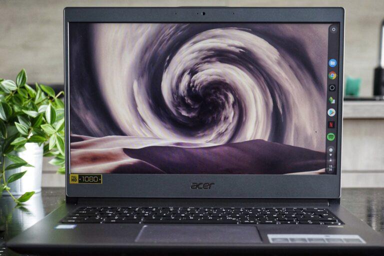 Die Arbeit mit einem Chromebook ist kein perfektes, aber ein spannendes Erlebnis.