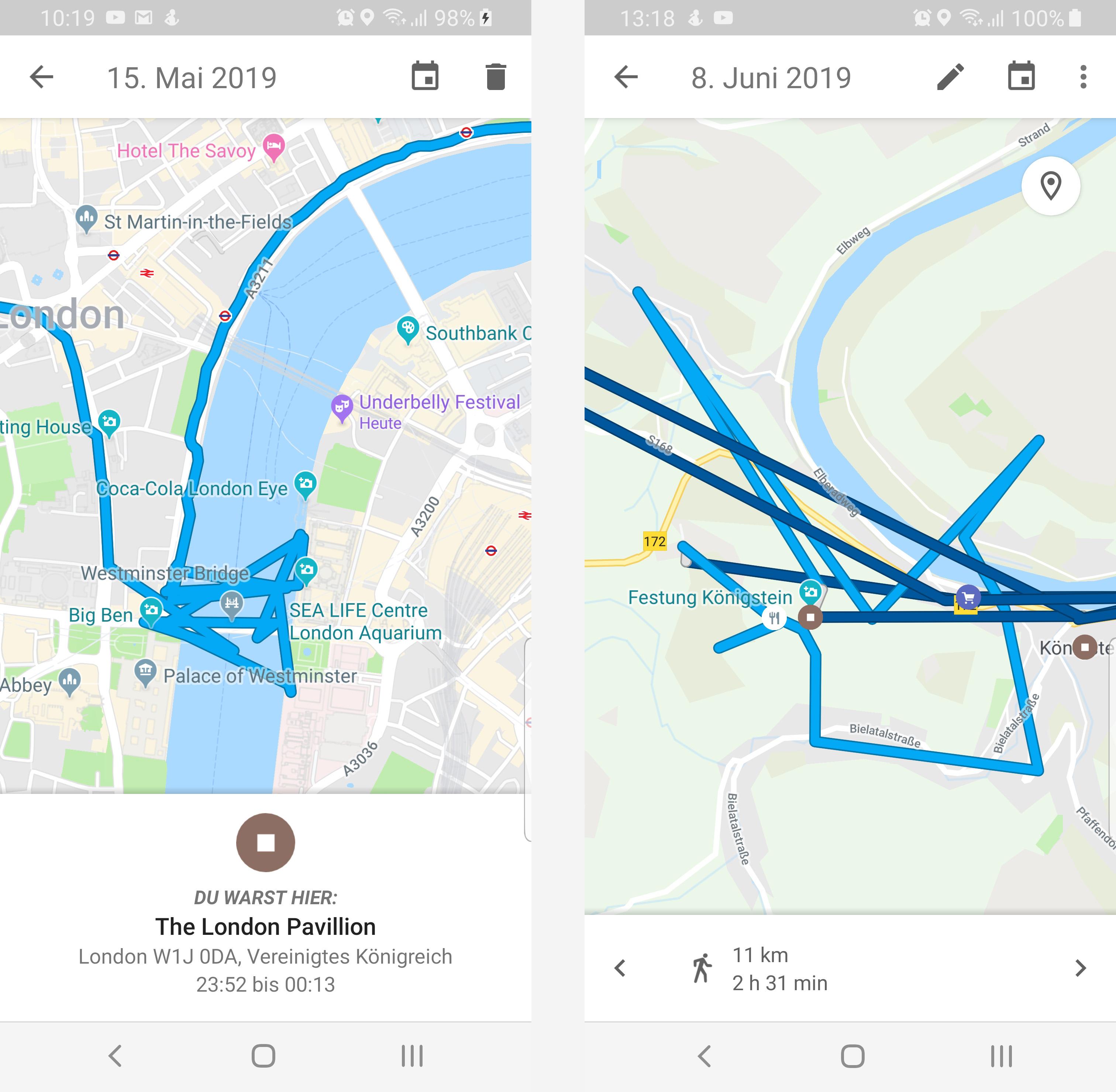 GPS Geräte für Wanderer