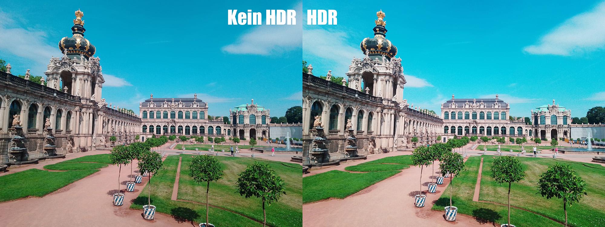 HDR und No-HDR im Vergleich. Das Gigaset GS195 im Test - made in Germany