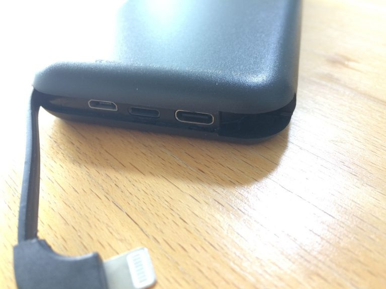 Die ideale Powerbank? Aufladen über Lightning, Micro-USB und USB-C