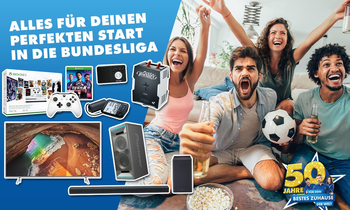 50 Jahre EURONICS: Gewinne ein TV-Set für deinen besten Fußball-Abend