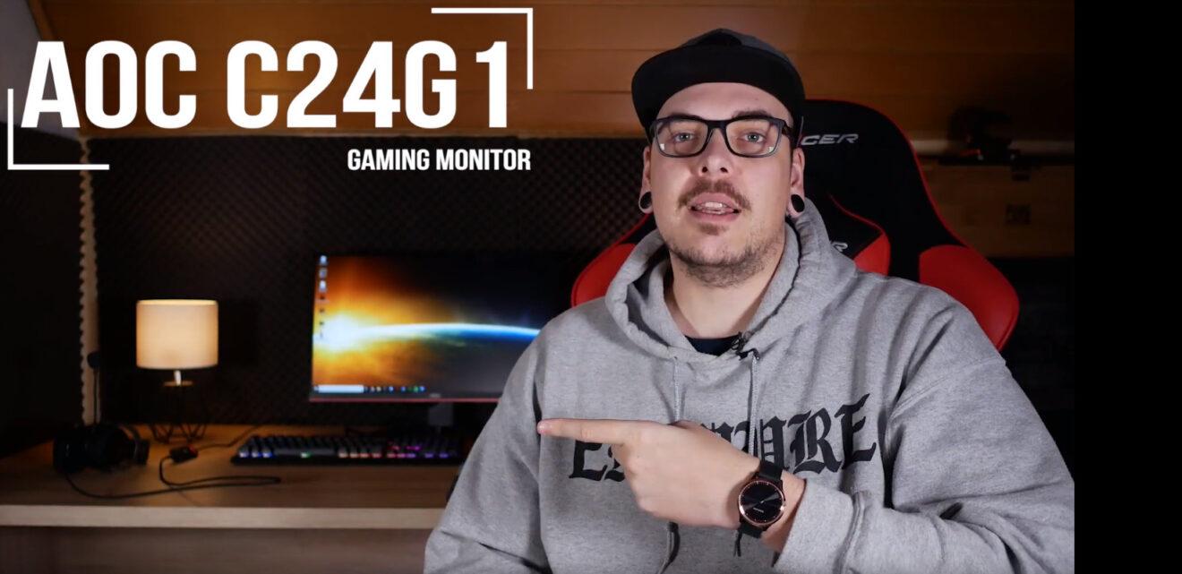AOC-Monitor C24C1: Curved Gaming zum guten Preis