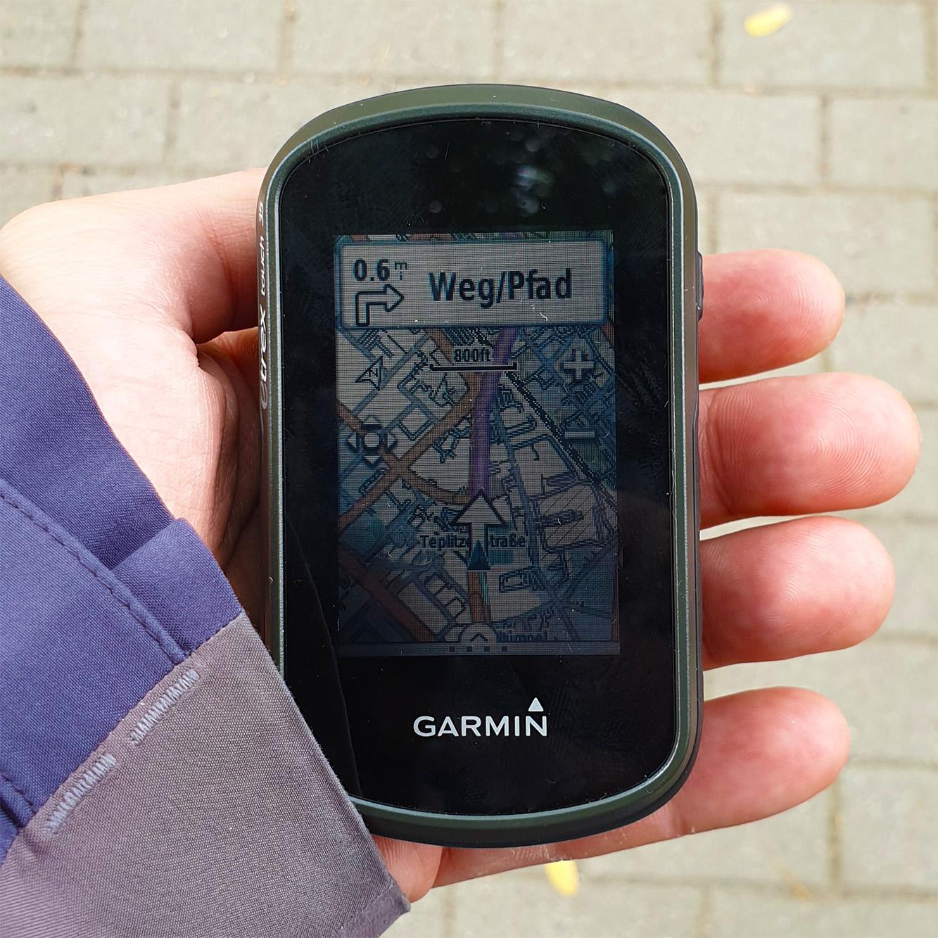 Garmin eTrex Touch 35 Ein GPS-Gerät für Wanderer und Fußgänger