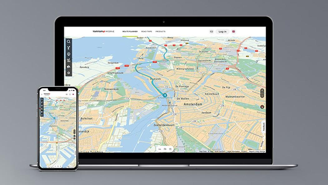 TomTom MyDrive: So plant ihr Routen bequem am PC und Smartphone