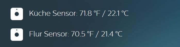Wenn ihr nur mal die Temperatur messen wollt, lohnt ein Blick in Hue Labs. (Foto: Screenshot)