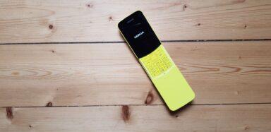 Das Nokia 8110 verfügt über KaiOS. Wäre es mit Android spannender für Käufer? (Foto: Sven Wernicke)