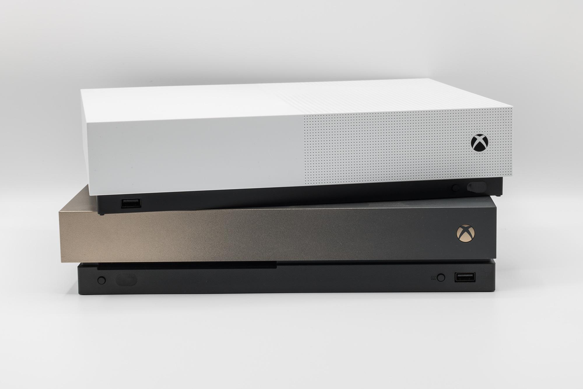 XB1 S All Digital und XB1 X im Vergleich