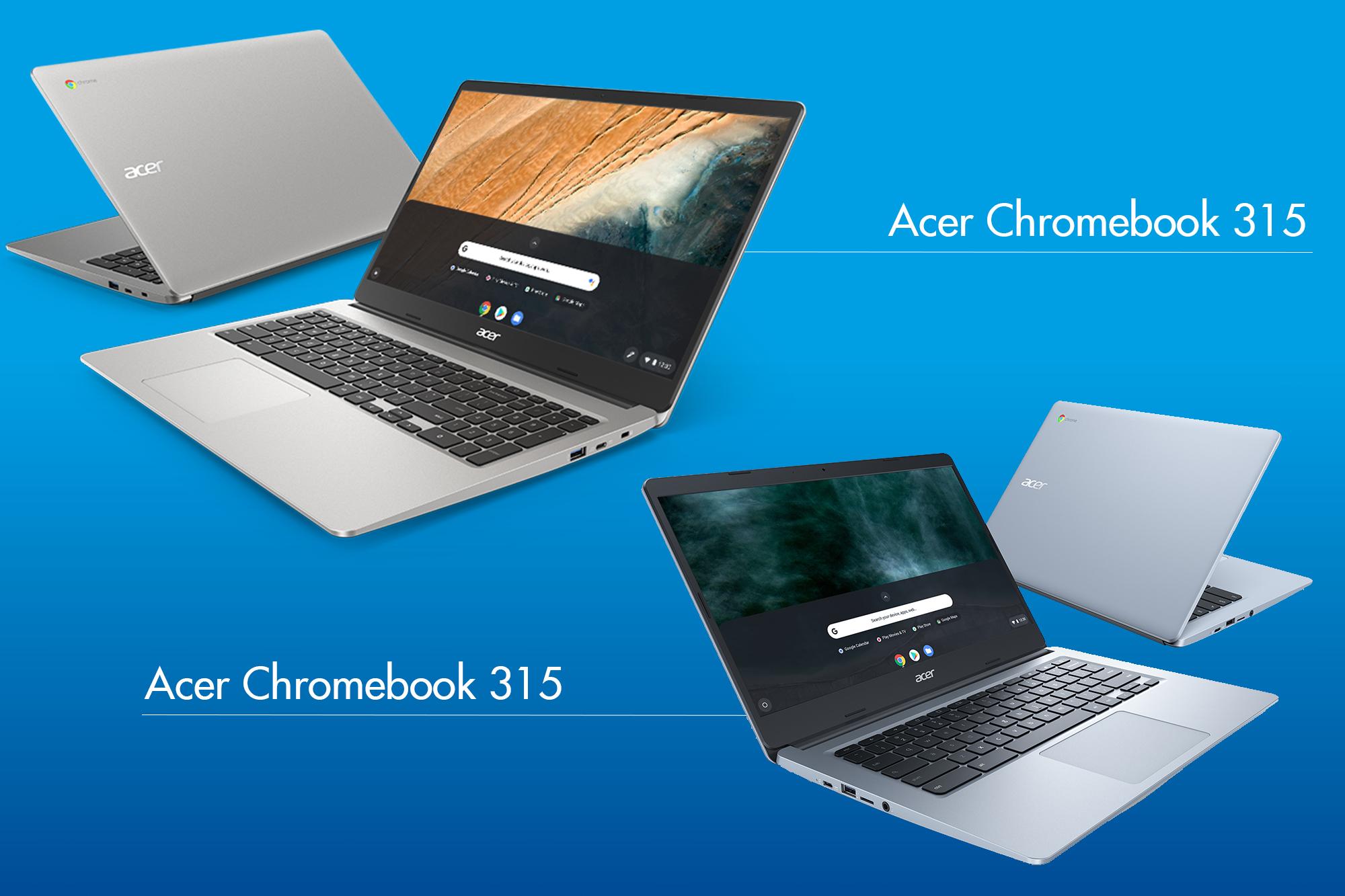Acer Chromebook 315 & Chromebook 314