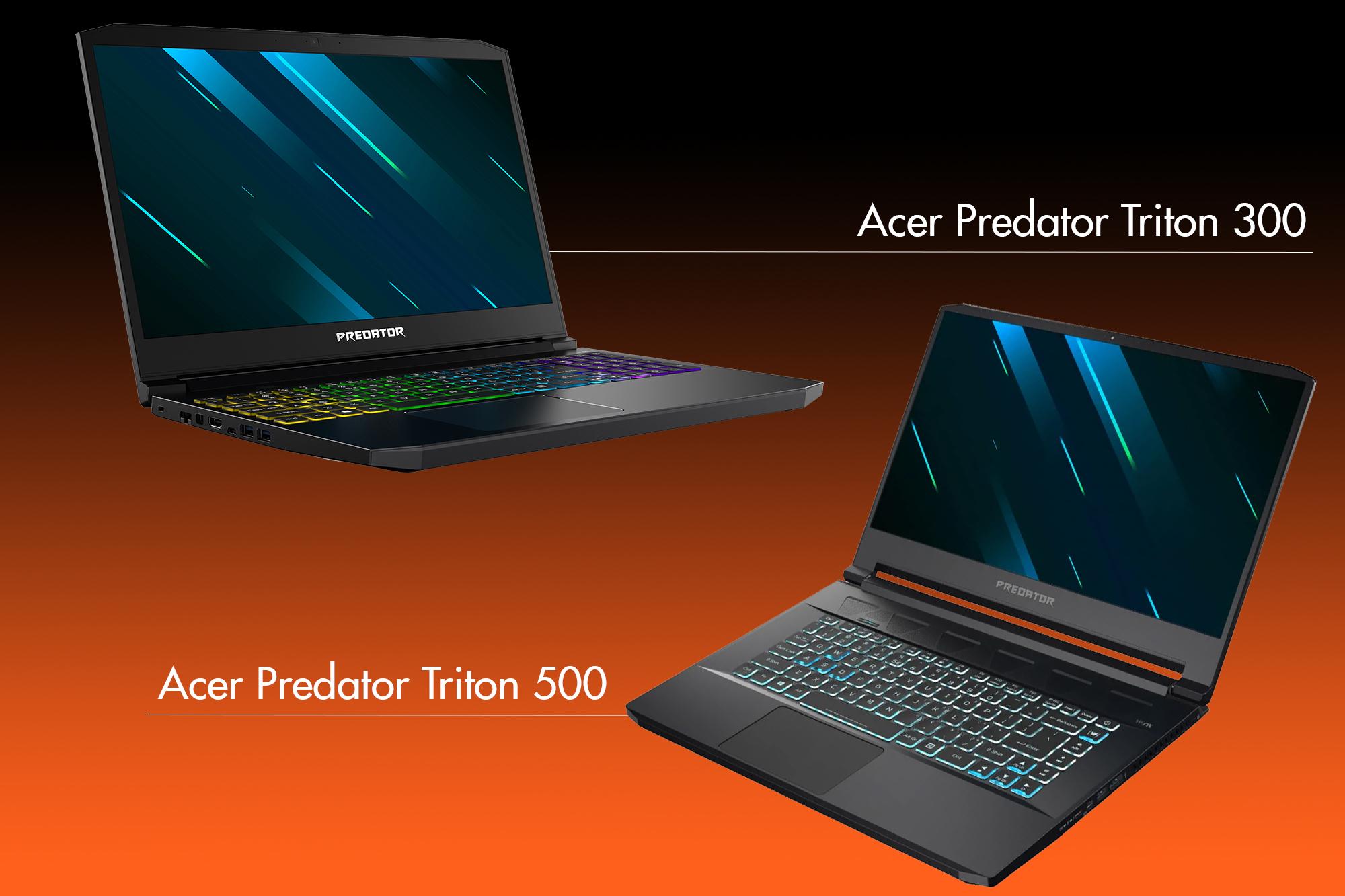 IFA 2019 - Acer Predator Triton 300 und Acer Predator Triton 500