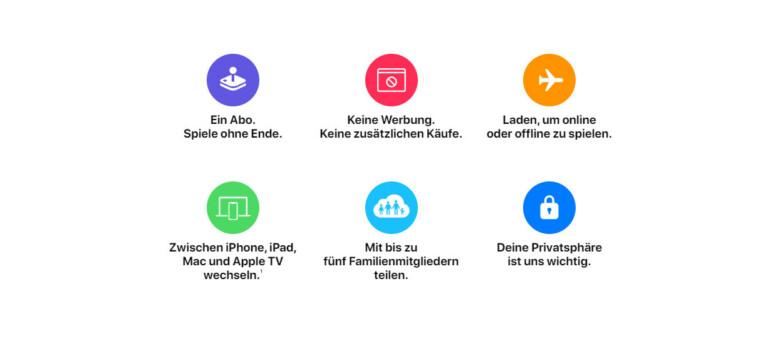 Apple-arcade-vorteile