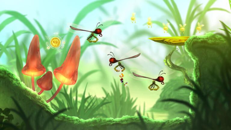 Rayman Mini: Niedliches Spiel für Apple Arcade