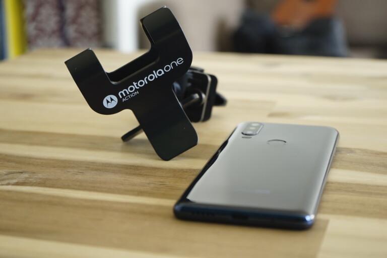 Praktische Fahrradhalterung für das Motorola One Action...