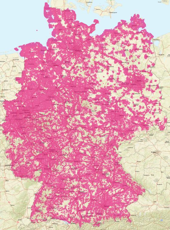 Deutsche Telekom 3G-Abschaltung Netzabdeckung