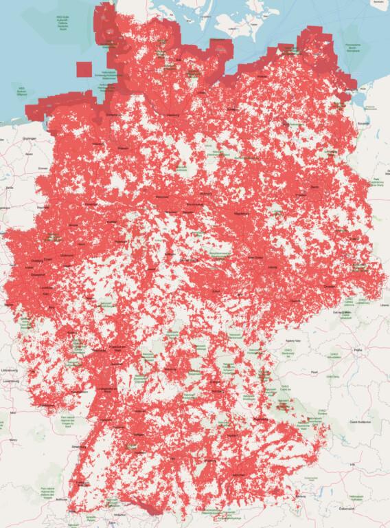 Vodafone 3G-Abschaltung Netzabdeckung