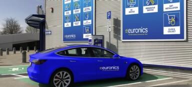 EURONICS nimmt beim E-Cannonball-Rennen 2019 teil