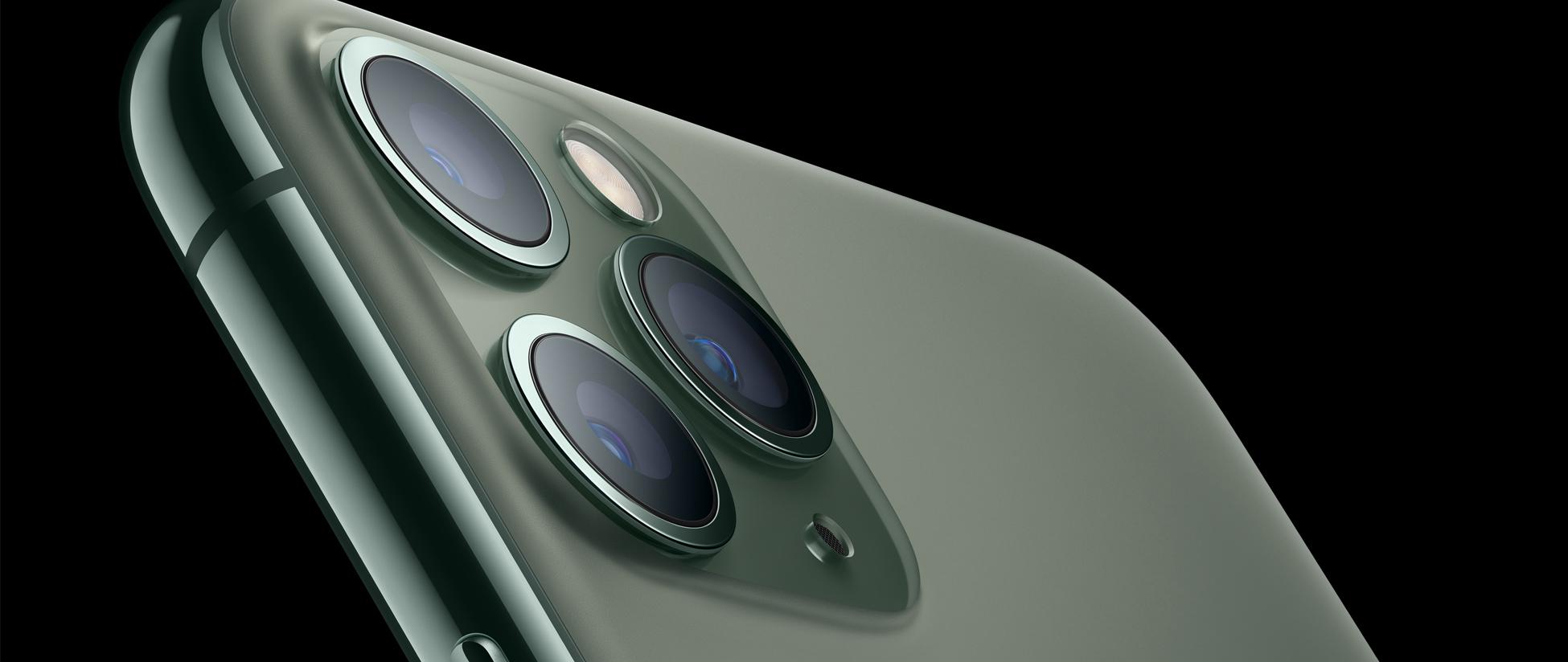 Kamerafassung des iPhone 11 Pro