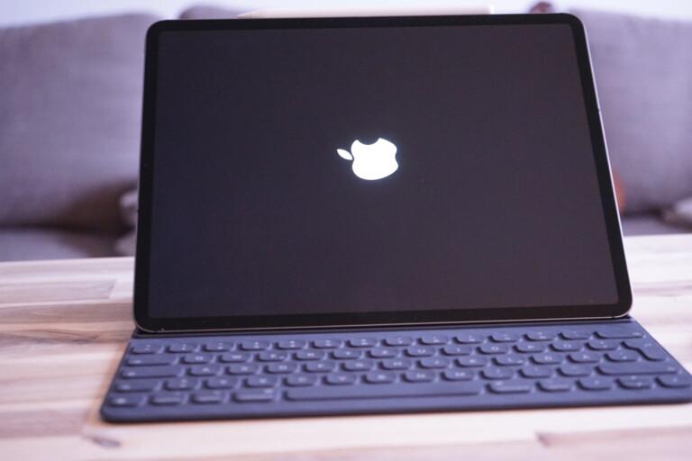 Querboot: Das iPad Pro fährt lieber im Vertikalmodus hoch.
