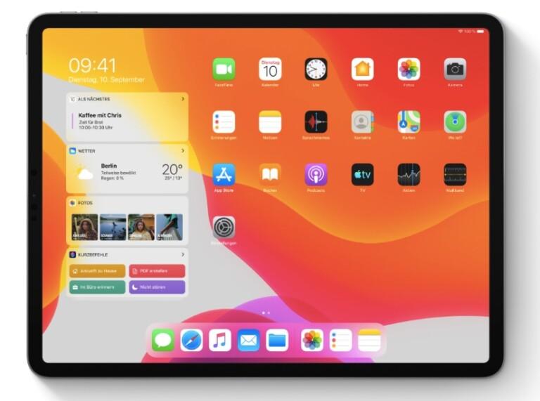 Das neue iPadOS. Bild: Apple