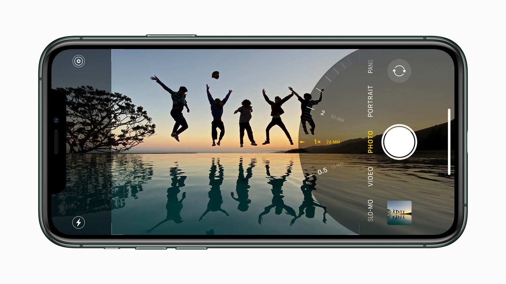 iPhone 11 Pro Fotomodus