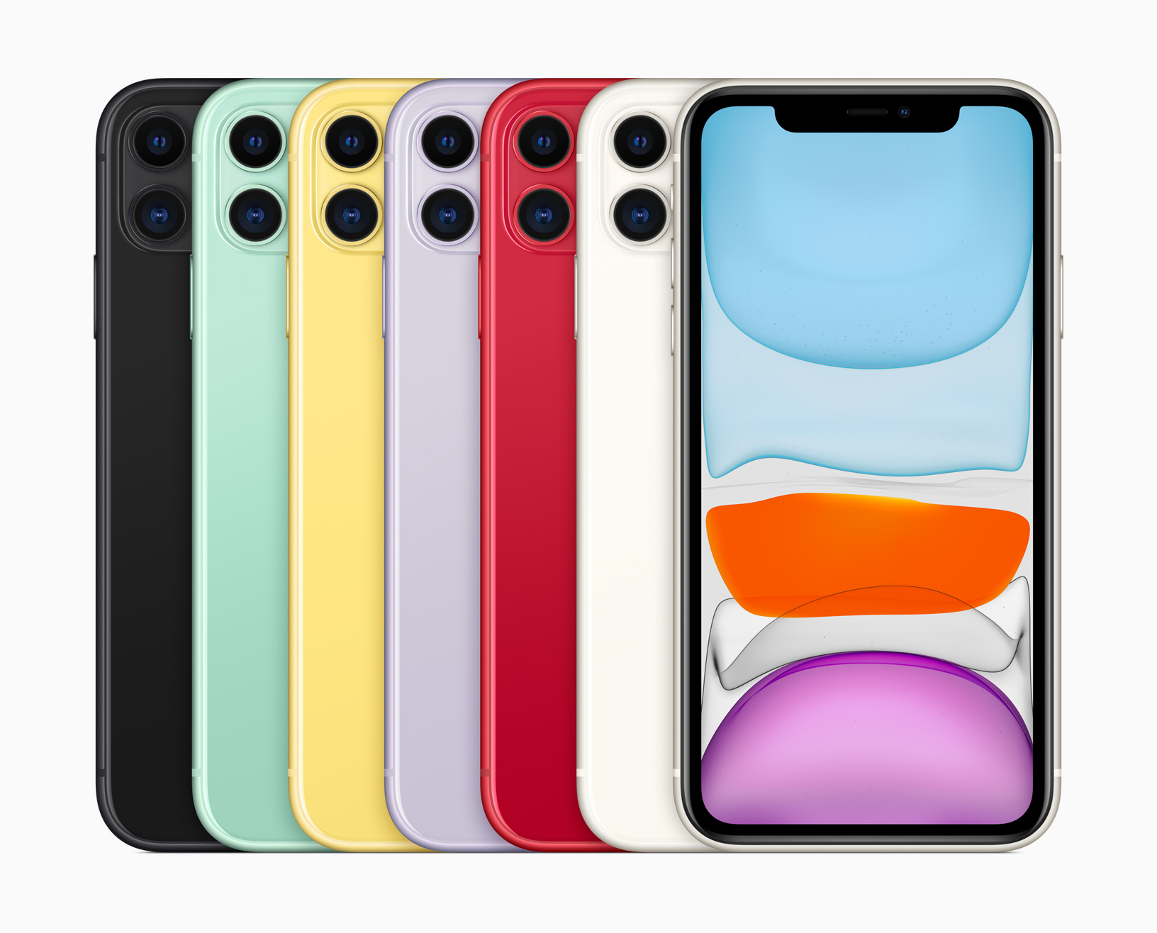 Apple iPhone 11 in sechs Farben